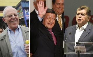 Elecciones 2016: PPK, Acuña y García disputan segundo lugar