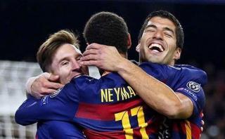 """Neymar: """"El tridente del Barcelona merece el Balón de Oro"""""""
