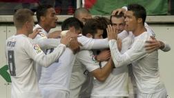 Real Madrid venció 2-0 a Eibar con goles de Bale y CR7