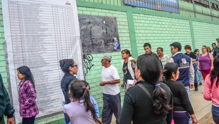 Callao: así votaron por primera vez en Mi Perú [FOTOS]
