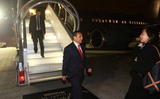 Ollanta Humala llega a Francia para participar de COP 21