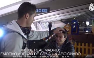 Conmovedor llanto de hincha al ver a Cristiano Ronaldo [VIDEO]