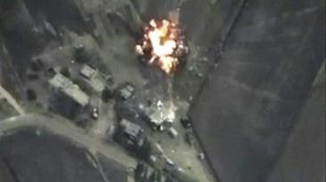 ¿Cuánto territorio perdió el Estado Islámico por bombardeos?