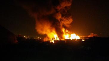 Incendio en Huachipa: falta de agua complicó labor de bomberos