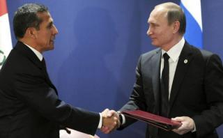 Rusia y el Perú ya son socios estratégicos