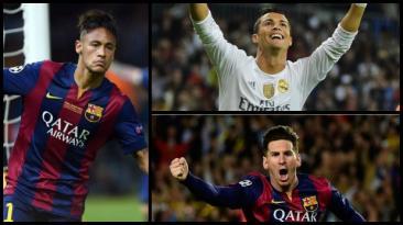 Balón de Oro: la magia y goles de Cristiano, Neymar y Messi