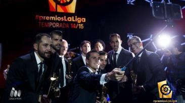Premios Liga BBVA: así lucieron los protagonistas e invitados