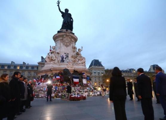 Ollanta Humala rindió homenaje a víctimas de atentados en París
