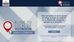 Estos son los pasos para elegir tu local de votación
