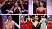 Liga BBVA: Elisa Mouliaá fue la bella presentadora de la gala
