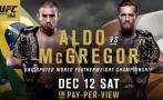 UFC: mira la previa extendida de José Aldo vs. Conor McGregor
