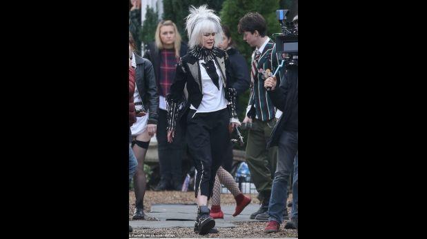 Nicole Kidman en personaje, en Londres. (Foto: Captura de pantalla)