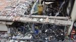 Imágenes de la fuerte explosión en mercado de Huancavelica - Noticias de accidente en huancavelica