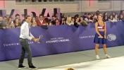 Rafael Nadal disputó curioso partido de 'strip-tenis' (VIDEO)