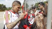 "Flamengo sobre Guerrero: ""Tal vez hubo expectativas exageradas"""