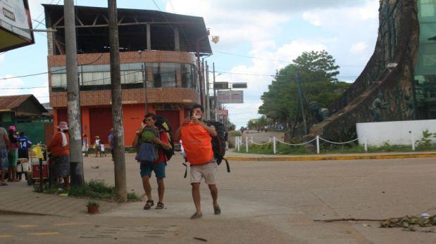 Turismo pierde S/.200.000 diarios por paro en Madre de Dios