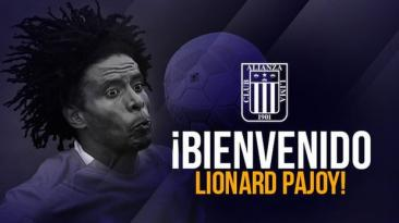 Alianza Lima: Lionard Pajoy firmó contrato para el 2016