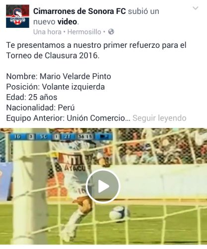 Mario Velarde jugará en el extranjero y espera retornar a la selección peruana. (Foto: USI)