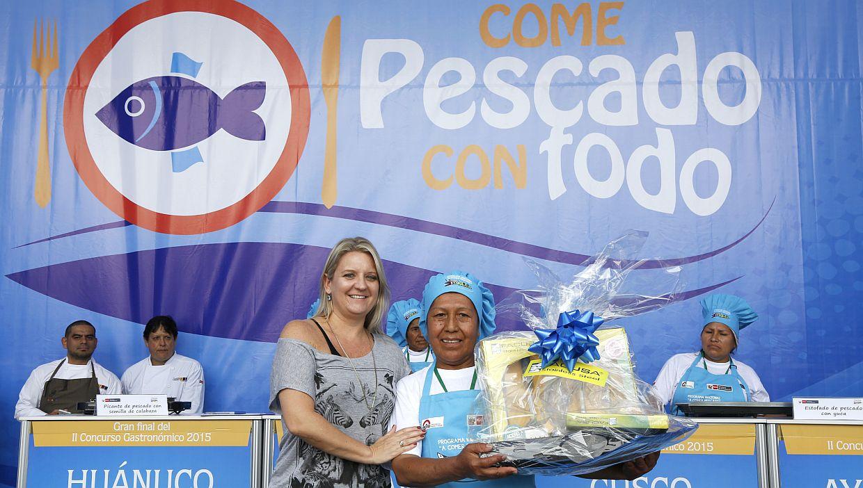 Hirka Roca-Rey, editora de Menú Perú participó, junto con destacados chefs y nutricionistas, como jurado en la categoría Comedores Populares.