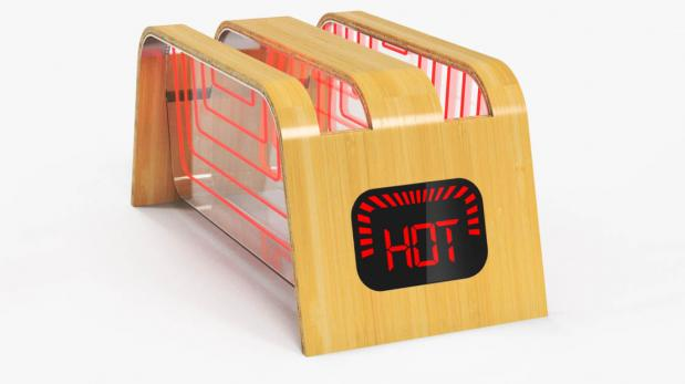 El dise o de esta tostadora evitar que tu pan se queme - Tostadora diseno ...