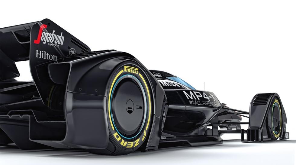Para McLaren, este auto futurista llevaría a la Fórmula 1 a una nueva era. (Fotos: Difusión / Video: YouTube)