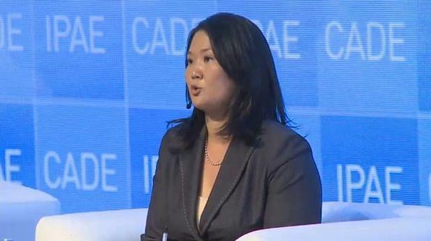 Keiko Fujimori: las 5 claves de su discurso en CADE 2015
