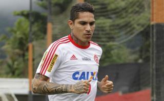 Paolo Guerrero ausente por lesión en último partido de Flamengo