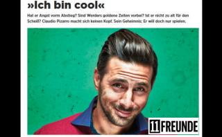 """Claudio Pizarro: """"Lewandowski habrá aprendido algo de mí"""""""
