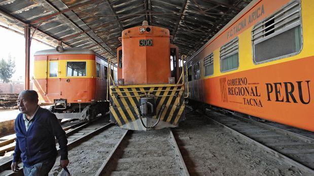 El ferrocarril Tacna-Arica continúa inoperativo [CRÓNICA]