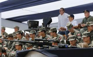 Humala asistió a la conclusión de ejercicio militar en el sur