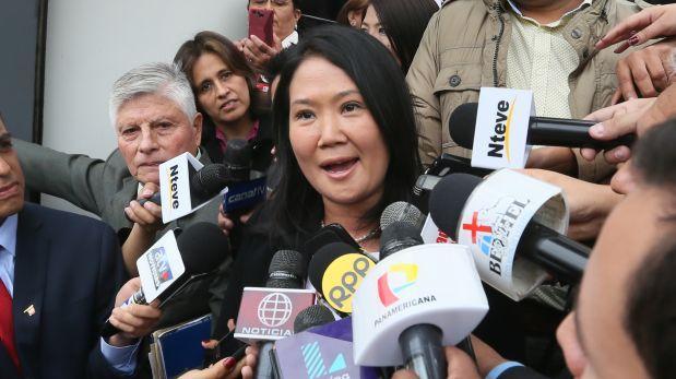 Keiko critica interés del gobierno en esterilizaciones forzadas