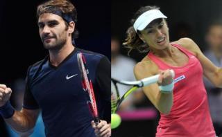 Federer y Hingis jugarán dobles mixto en Juegos de Río 2016