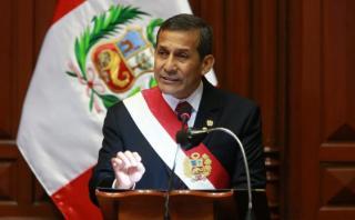 Aprobación de Ollanta Humala se mantiene en 17%, según Datum
