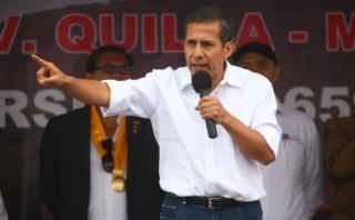 """Humala: """"Política social de este gobierno no tiene retroceso"""""""