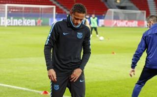 Neymar se lesionó y podría perderse el Mundial de Clubes