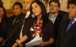 Nadine: Urresti aún no es elegido, pero corre como precandidato