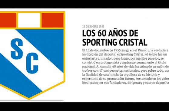Sporting Cristal y sus seis décadas de triunfos