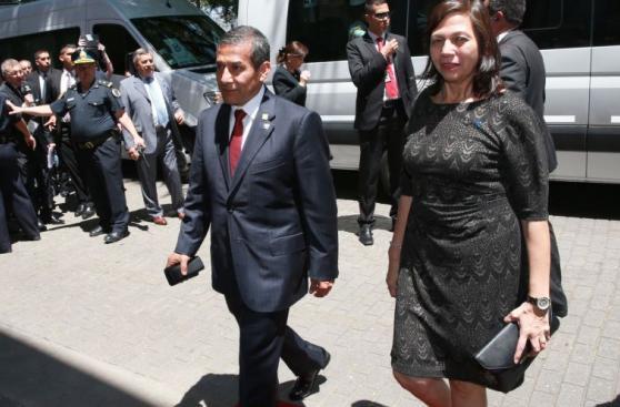 Ollanta Humala participó en la toma de mando de Mauricio Macri