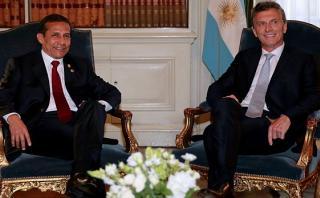Perú y Argentina interesados en dar nuevo impulso a su relación