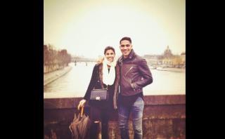 Alondra García Miró y Paolo Guerrero disfrutan juntos en París