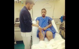 """Jefferson Farfán fue operado """"con éxito"""" del tobillo izquierdo"""