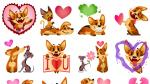 Biscuit enamorado es el sticker más popular de Facebook en 2015 - Noticias de review