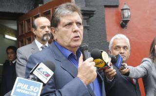"""García: """"Han avanzado las conversaciones con PPC y Vamos Perú"""""""