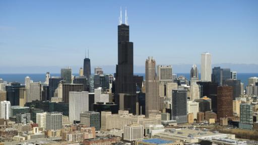 Hasta hace pocos años, la torre Willis en Chicago era la más alta de EE.UU.