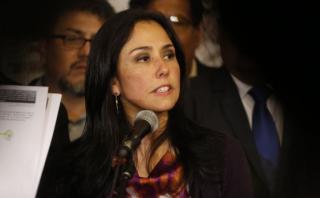 Nadine Heredia: Keiko agradece a Vilcatoma servicios prestados