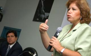 Lourdes Flores Nano y sus desencuentros con Alan García