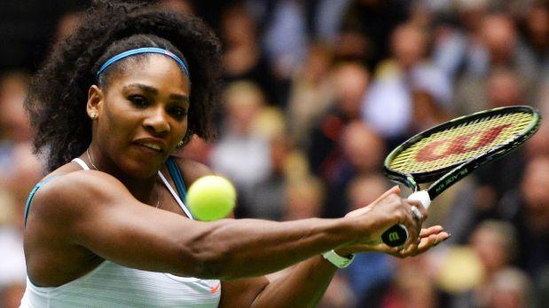 Serena Williams recibe este galardón de Sports Illustrated que no tenía exclusivamente una mujer hace más de 30 años. (Foto: AFP)