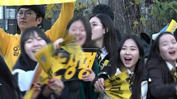 La competitividad académica es una de las características de la sociedad surcoreana. (Archivo: BBC)