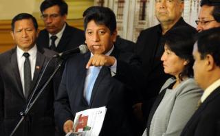 Gana Perú buscará anular ampliación de investigados por agendas