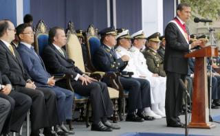 """Ollanta Humala: """"Un oficial preparado es el arma más disuasiva"""""""